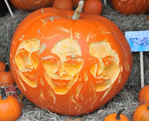 Pumpkin Carving The Kardashians