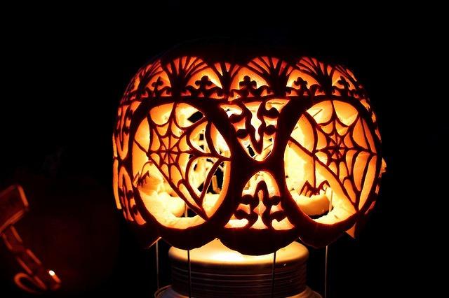 Tiffany-Style Jack O'Lantern