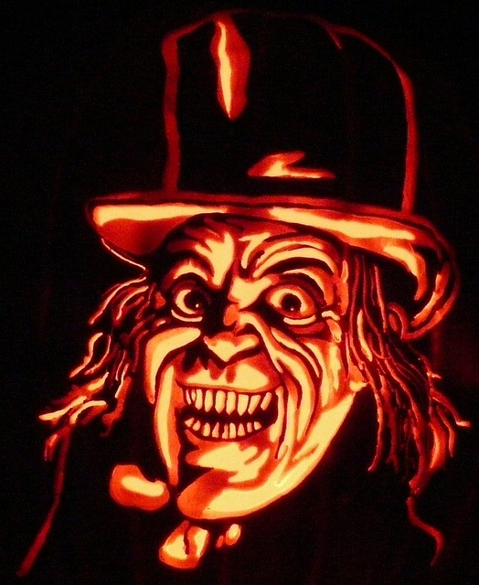 Wizard Halloween Pumpkin Carving Inspiration