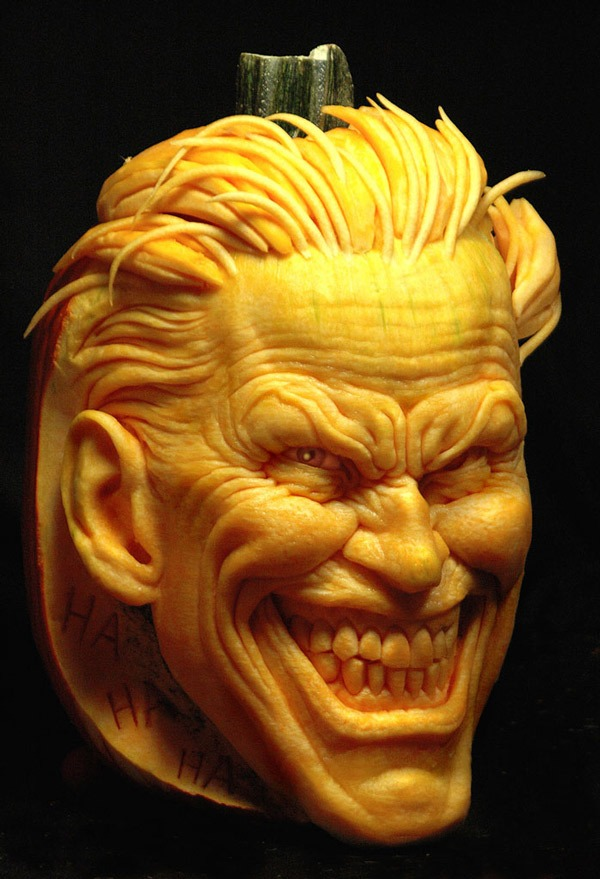 joker halloween pumpkin carving