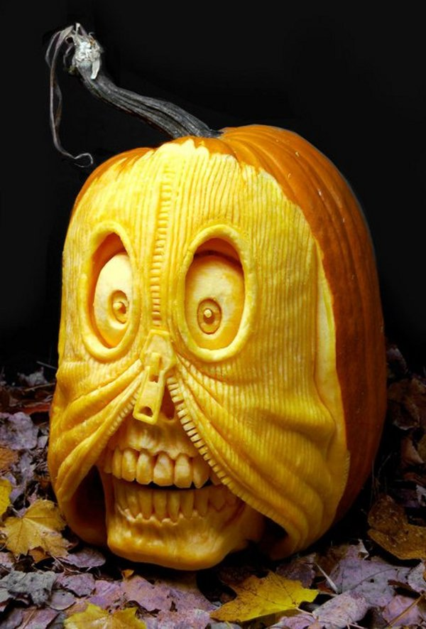 naughty carved pumpkin ideas