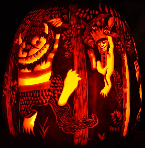 owl Pumpkin Carving Idea