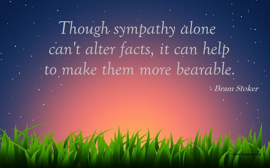 25 Sympathy Quotes, Messages & Condolence