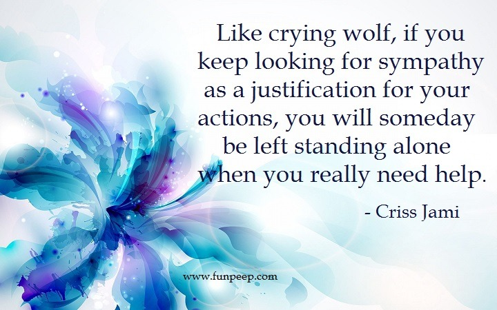 Criss Jami Sympathy quote