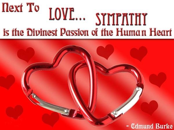 Sympathy a divine passion