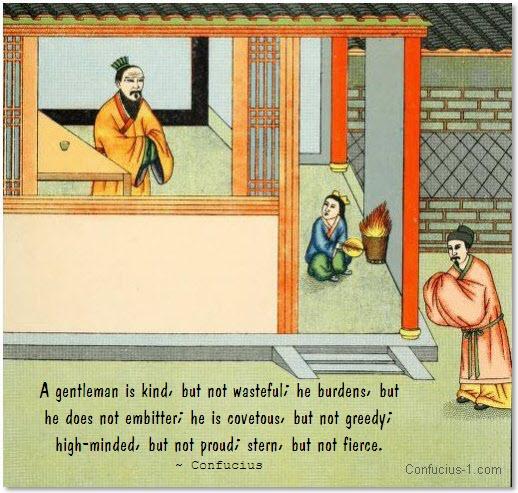 confucius gentleman quotes