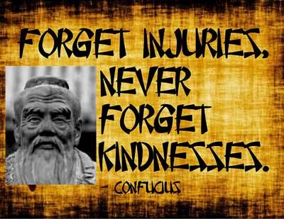 confucius kindness quotes