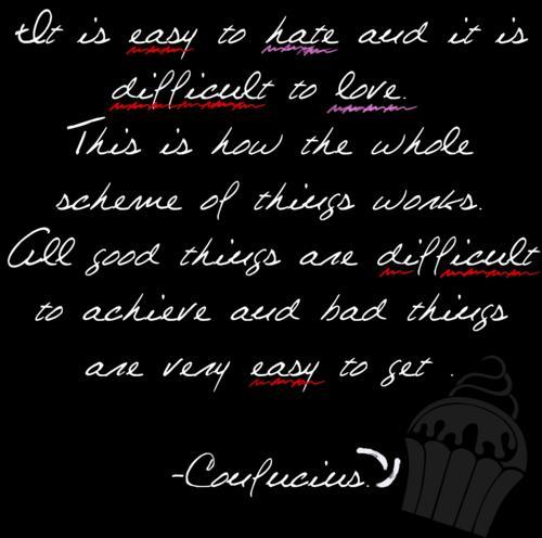 confucius love quotes