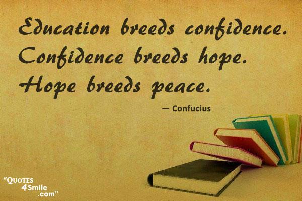 confucius quote on peace