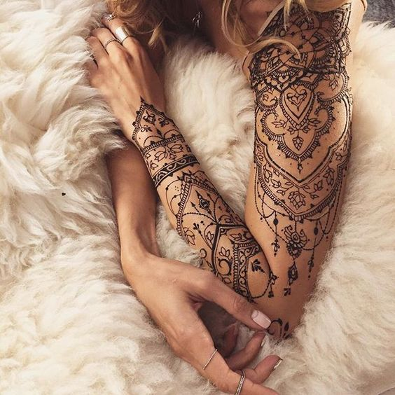 amazing arm tattoos for girls