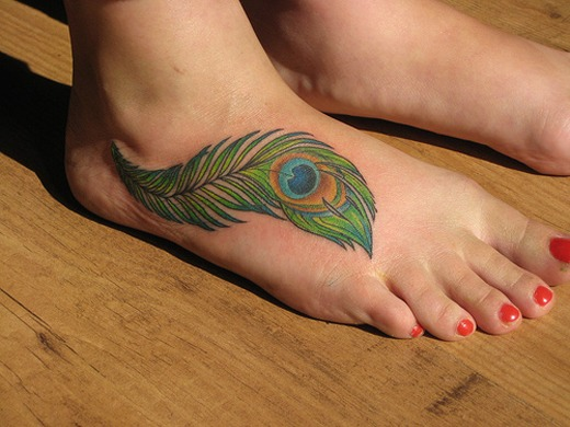Cute Foot Tattoo