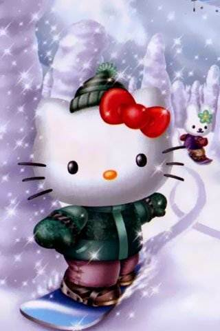 Hello Kitty Phone Wallpaper