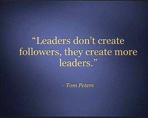 Leadership quote sayings