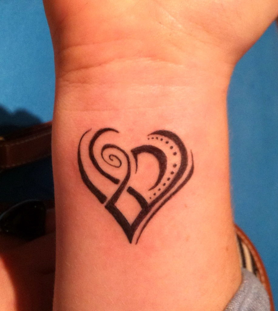Awesome wrist tattoo for girls
