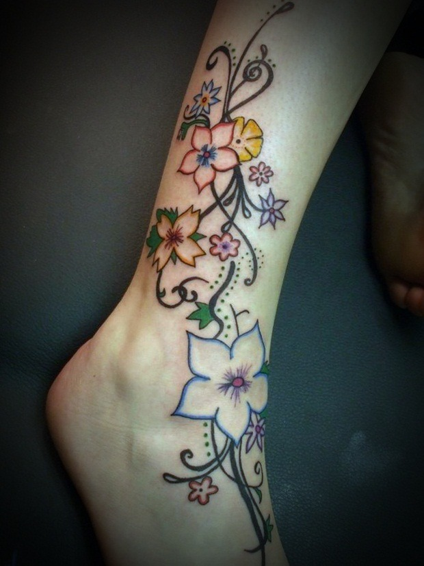 Cute Leg Tattoo