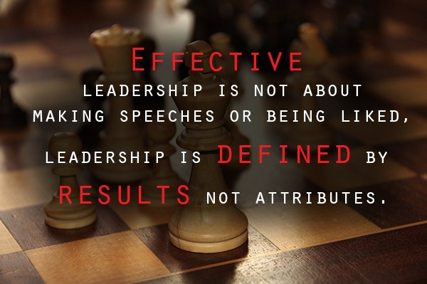 effective leadership quotes