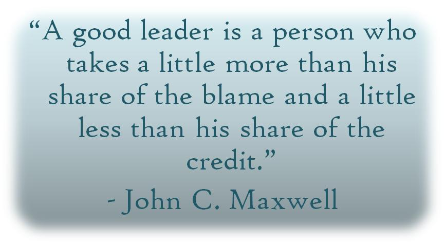 good leadership quote