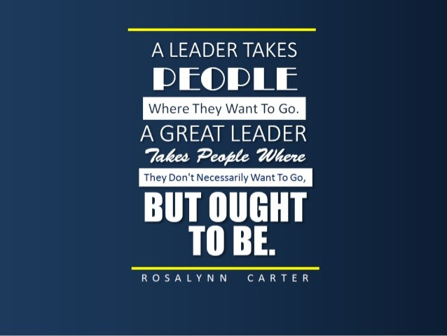 leader quotes saying