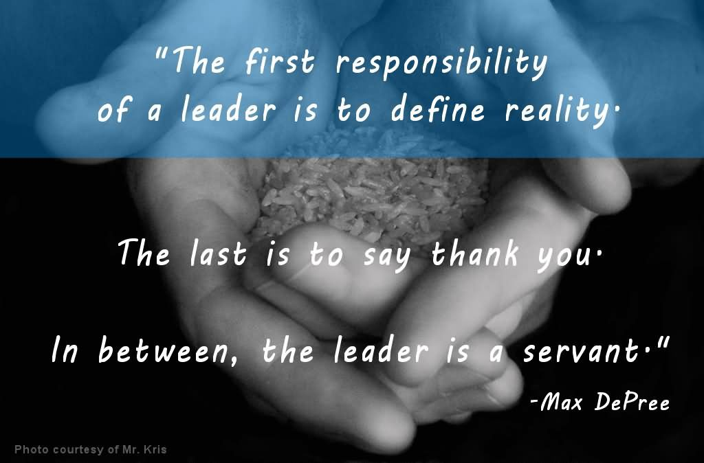 leadership saying quotes
