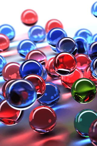 marbles Phone Wallpaper