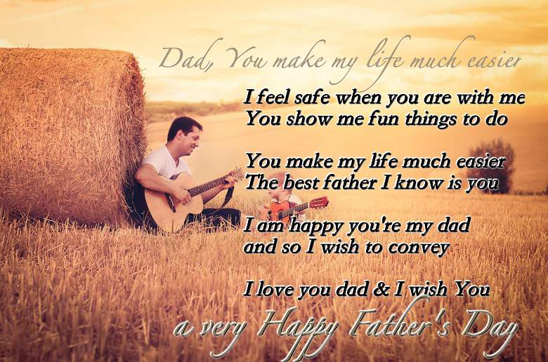 25 Touching Fathers Day Poems From KidsI Love My Dad Poems That Will Make You Cry