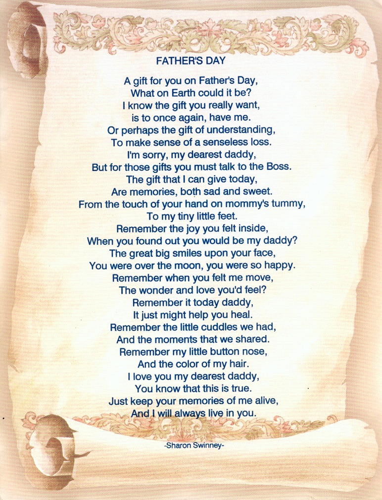 cute fathers day poems
