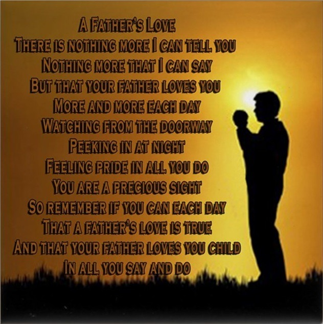 sweet fathers day poem