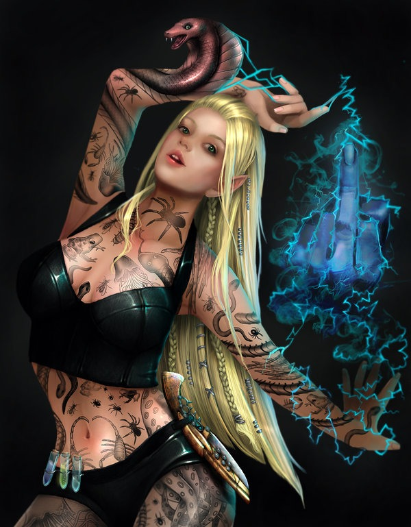 Tattoo Assassin RomanticFae