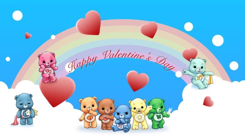 Cute Happy Valentine Day Wallpaper Desktop