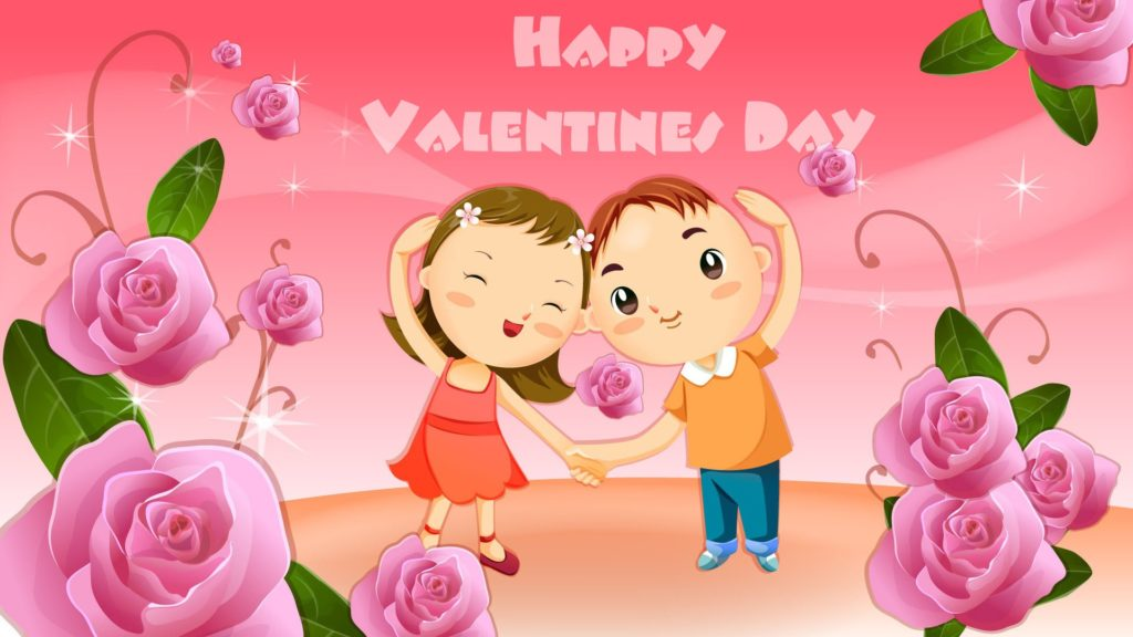 Valentine Day kids