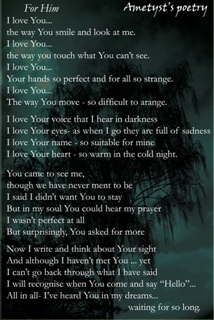 cute love poems for him