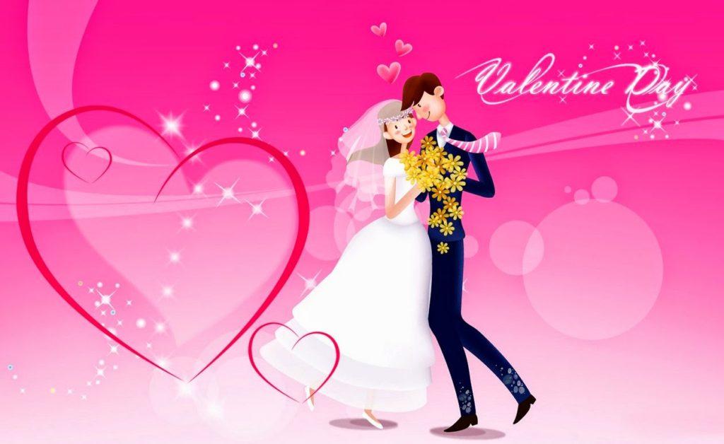 happy valentines day wedding