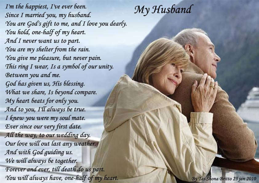 love poem for husband