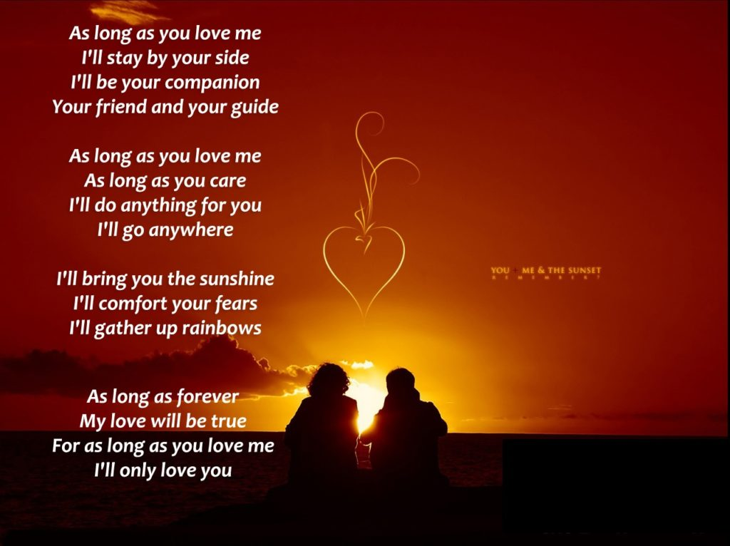 My love for you poems for boyfriend
