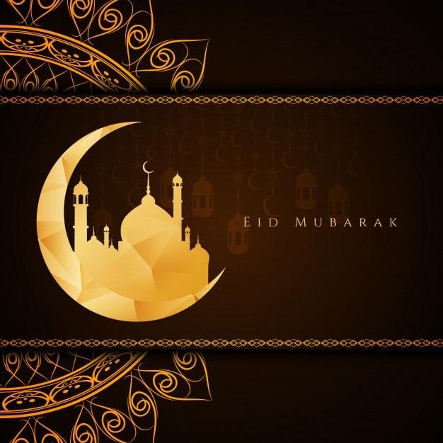 Happy eid mubarak card