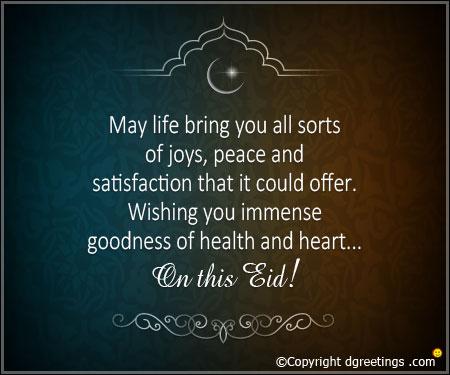 happy eid wish