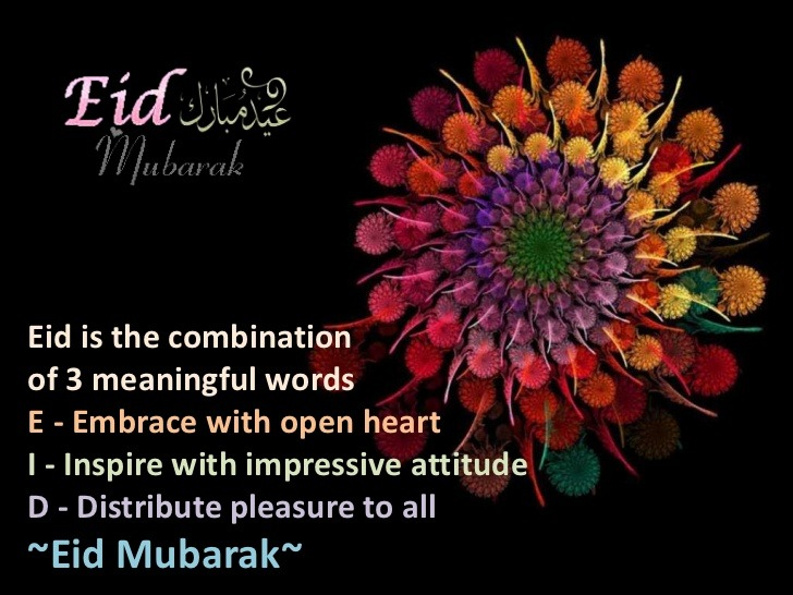 Colorful Eid Card
