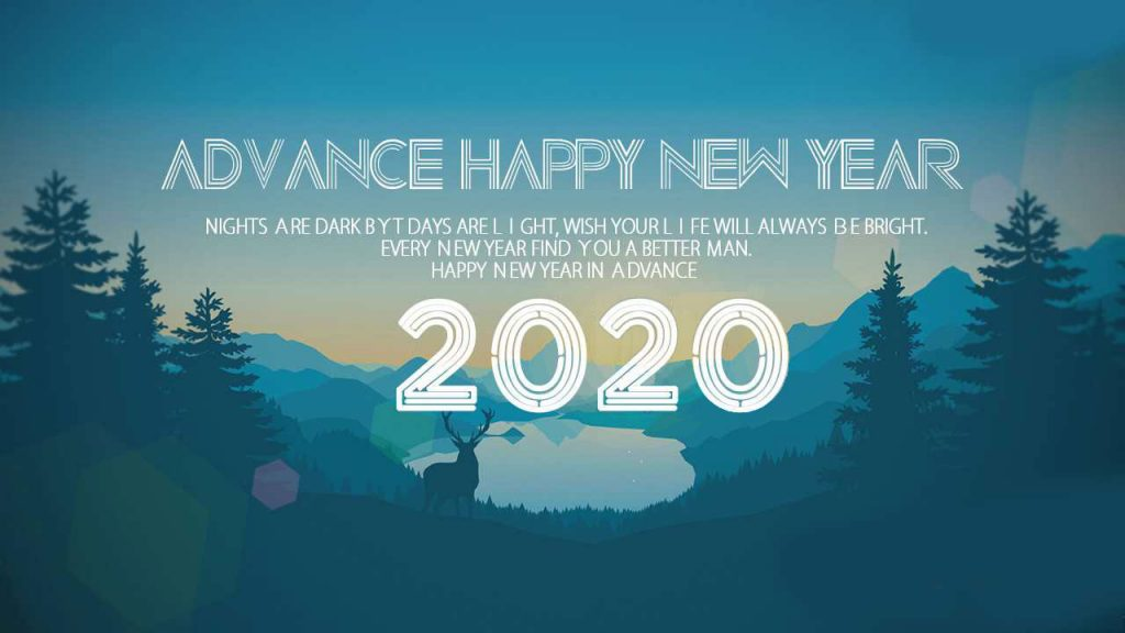 Advance Happy New Year Wish