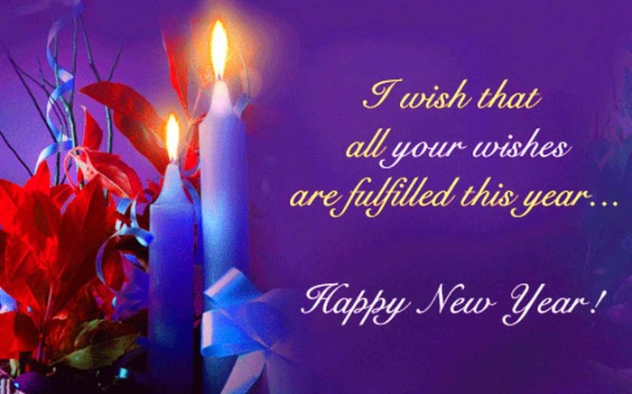 Happy New Year wish Wallpapers