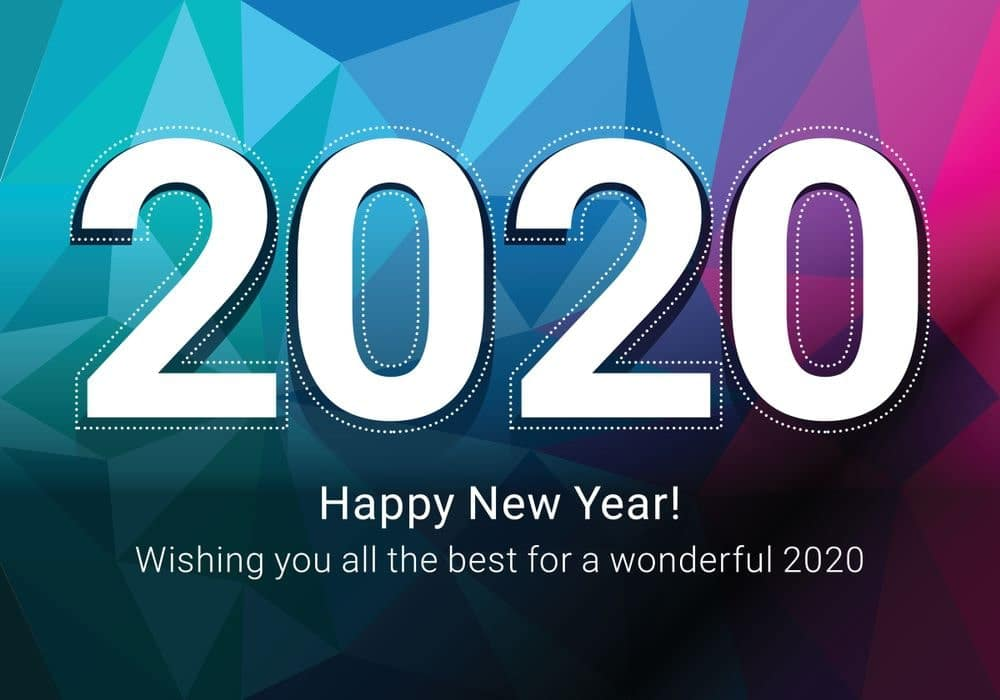 happy new year 2020 wish