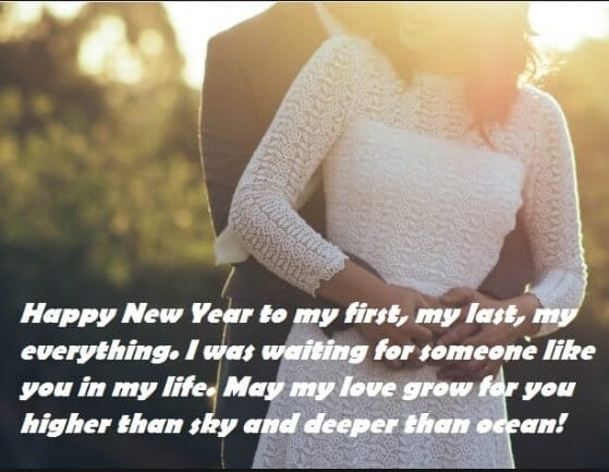 new year wish for lovers
