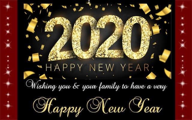 new year greetings family
