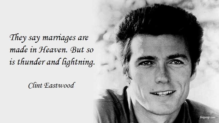 Clint Eastwood funny quote