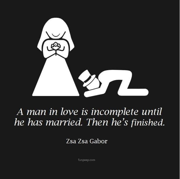 Zsa Zsa Gabor quote
