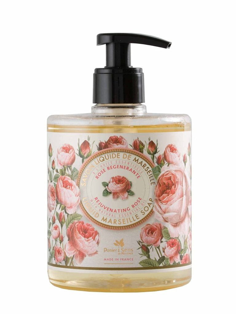 Liquid Marseille Soap Rejuvenating Rose