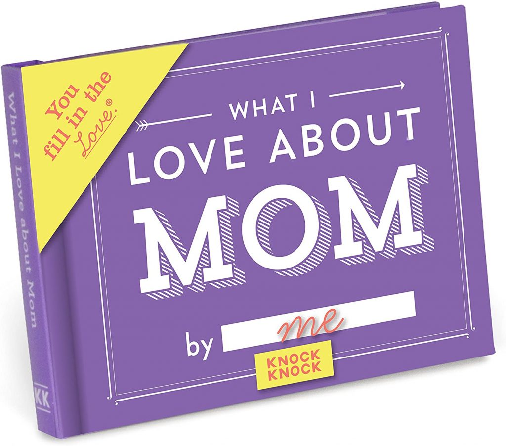 fill in the blank journal for mothers day