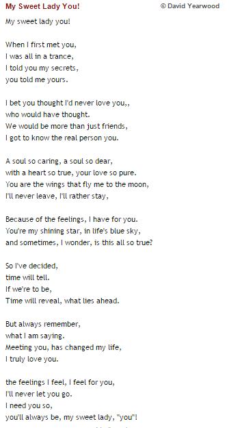 valentine love poem for girlfriend